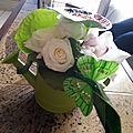 Bouquets arrosoir
