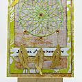 Carte dreamcatcher sur chevalet L'Atelier au soleil