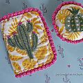 Cactus et broderies