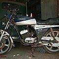 On restaure aussi les motos à madras /chennai