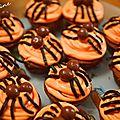 Halloween 2017 2ème partie : les cupcakes araignées