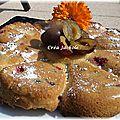 Biscuit marguerite prunes et poires