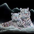 Peintures de cristaux de swarovski