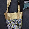 Un sac ... qui brille... pour minette ... version 2