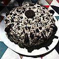 Gâteau à la crème chantilly oréo©