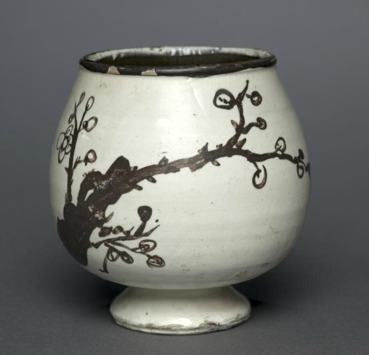 Cup, 1200s-1300s, Northern China, Jin dynasty or Yuan dynasty