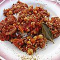 Riz aux légumes secs