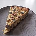 Gâteau grec à la courgette et aux fines herbes