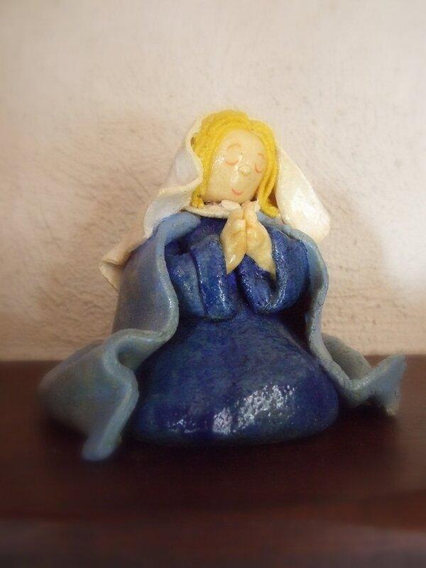 Marie en pâte à sel