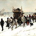 Castres, une ambulance internationale par temps de neige