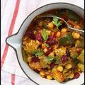 Ragoût végétarien aux aubergines et variantes