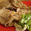 Galettes champignons andouille