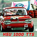 Nsu 1000 tts - préparation d'un moteur de course / preparation engine of race