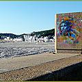 L'art à la plage .
