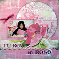 Une page rose