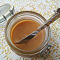 Recette de mon caramel au beurre salé sans gluten