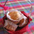 Muffins Pommes Miel Cannelle