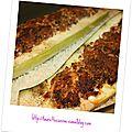 Courgettes farcies - nouvelle recette