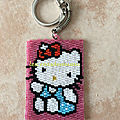 Porte clé Hello kitty