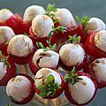 Tomates cerise en bouquet