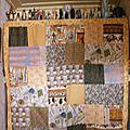 panneau en patchwork egypte