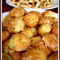 Apéro d'inspiration bourguignonne...snacks with a burgundian flair