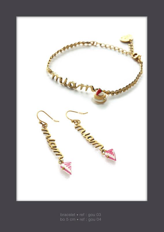 GOURMANDE•Bracelet & Bo