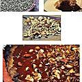 Tarte chocolat noisettes