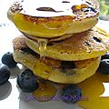 Blueberry pancakes pour l'independence day