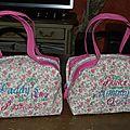 2 jolis sacs très