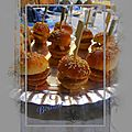 Mini hamburgers au foie gras