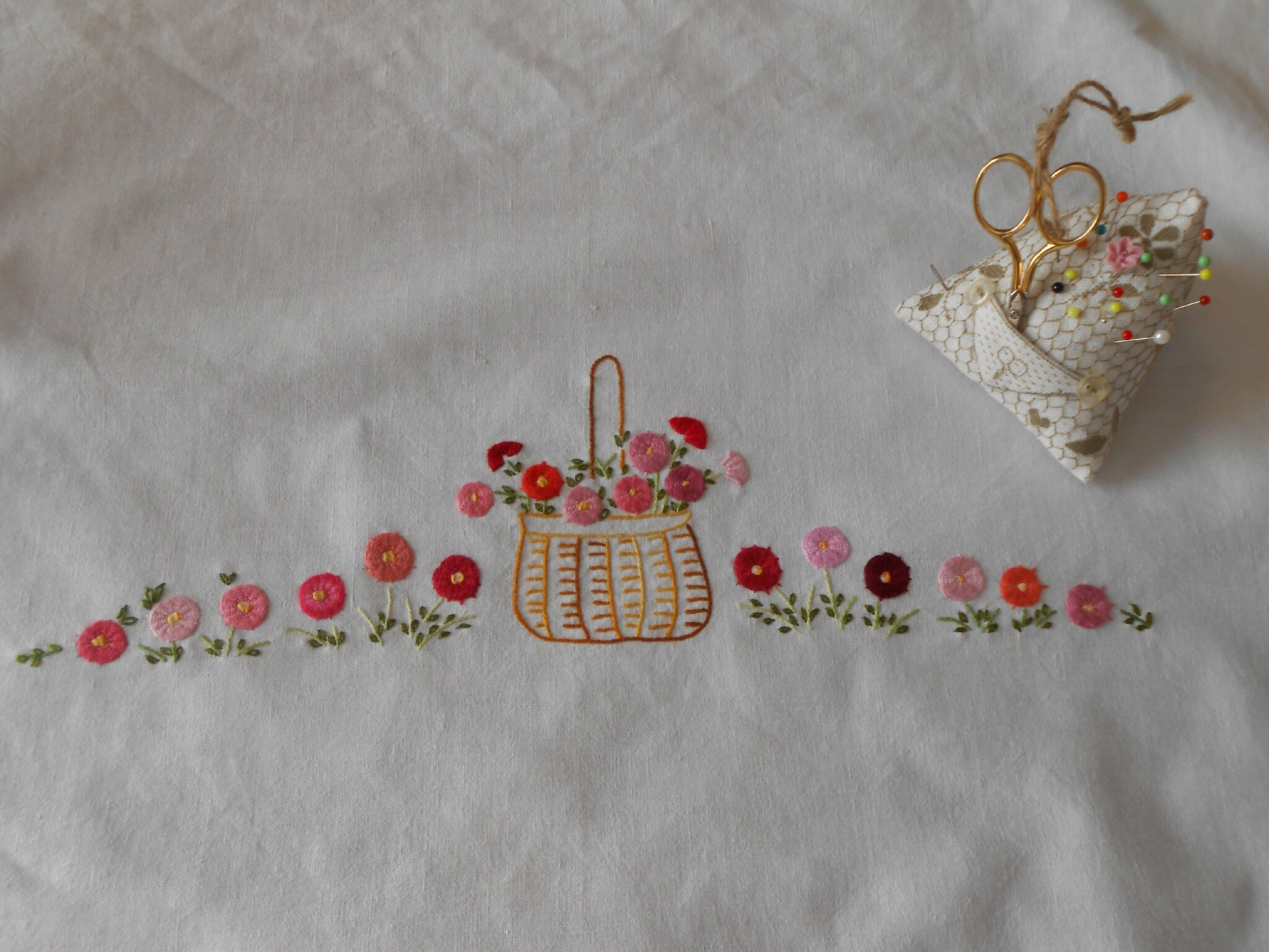 torchon broderie traditionnelle
