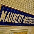 Station Maubert-Mutualité Ligne 10.