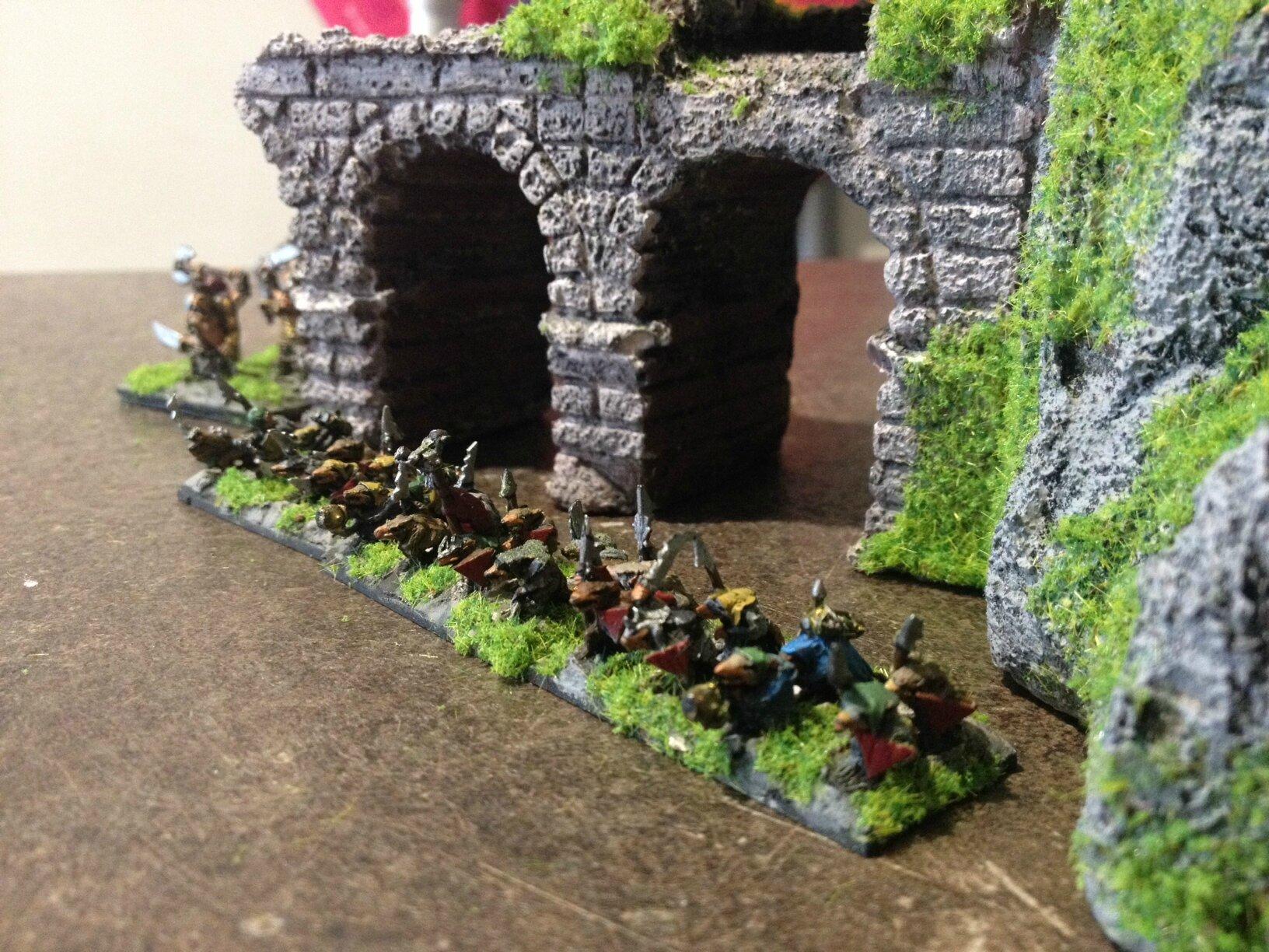 aqueduc en ruine décors 10 mm