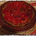 Tatin aux tomates