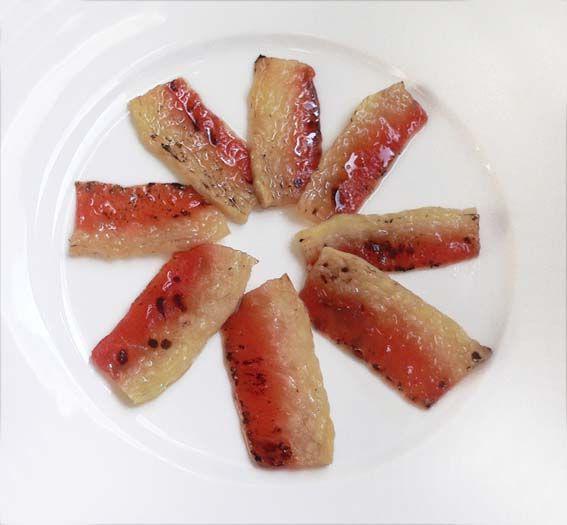 Filets de pastèque