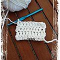 Challenge super starter crochet ... 2ième semaine...