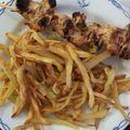 Brochettes de porc tandoori