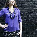 Purple shirt (aime comme madame)