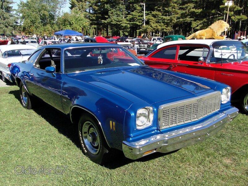 """Dodge Trucks Canada >> Chevrolet Chevelle Malibu coupe-1975 - Oldiesfan67 """"Mon blog auto"""""""
