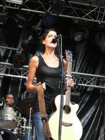 Alix Léone 1ère des Francofs 2006