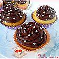 Cupcakes noisette chocolat