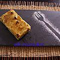 tarte normande revisitée, crème chibboust