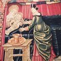 La collégiale notre-dame de beaune, la tapisserie