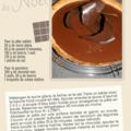 Tarte de noël au chocolat