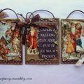 Trois mini cartes de noël…