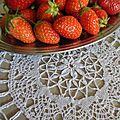 4 mai 2014 - 1ères fraises