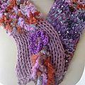Le tricot : les écharpes