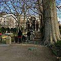 Instantané au jardin du Luxembourg.
