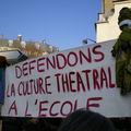 Culture pour tous : manifestation contre la politique de Sarkozy